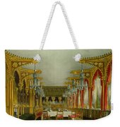 The Gothic Dining Room At Carlton House Weekender Tote Bag