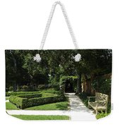 The Govenor's Gardens Weekender Tote Bag