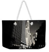 The Grace Building And The Chrysler Building - New York City Weekender Tote Bag