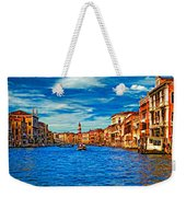 The Grand Canal Impasto Weekender Tote Bag