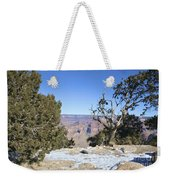 The Grand Canyon In January Weekender Tote Bag