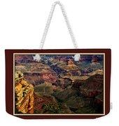 The Grand Canyon Weekender Tote Bag by Tom Prendergast