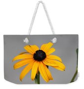 The Gray Day Of Yellow Weekender Tote Bag