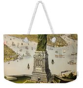 The Great Bartholdi Statue Weekender Tote Bag