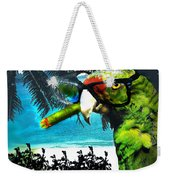 The Great Bird Of Casablanca Weekender Tote Bag