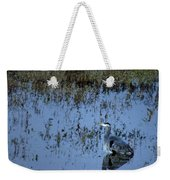 The Great Blue Calm Weekender Tote Bag