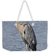 The Great Blue Heron Photo Weekender Tote Bag