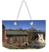 The Great Falls In Paterson Weekender Tote Bag