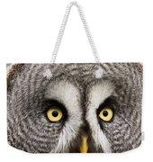 The Great Grey Owl  Weekender Tote Bag