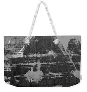 1m3752-bw-the Great North Face Of North Twin Weekender Tote Bag
