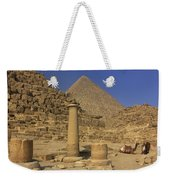 The Great Pyramids Giza Egypt  Weekender Tote Bag