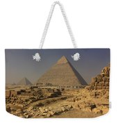 The Great Pyramids Of Giza Egypt  Weekender Tote Bag by Ivan Pendjakov