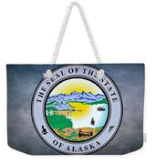 The Great Seal Of The State Of Alaska  Weekender Tote Bag