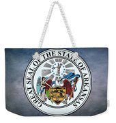 The Great Seal Of The State Of Arkansas Weekender Tote Bag