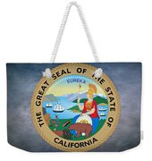 The Great Seal Of The State Of California Weekender Tote Bag