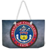 The Great Seal Of The State Of Colorado Weekender Tote Bag