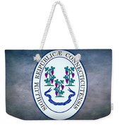 The Great Seal Of The State Of Connecticut Weekender Tote Bag