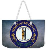 The Great Seal Of The State Of Kentucky  Weekender Tote Bag