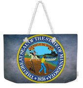 The Great Seal Of The State Of Minnesota Weekender Tote Bag