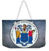 The Great Seal Of The State Of New Jersey Weekender Tote Bag