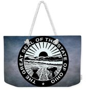 The Great Seal Of The State Of Ohio  Weekender Tote Bag