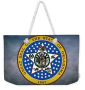 The Great Seal Of The State Of Oklahoma Weekender Tote Bag