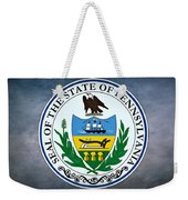 The Great Seal Of The State Of Pennsylvania  Weekender Tote Bag