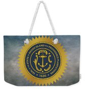 The Great Seal Of The State Of Rhode Island Weekender Tote Bag