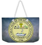 The Great Seal Of The State Of Tennessee Weekender Tote Bag by Movie Poster Prints
