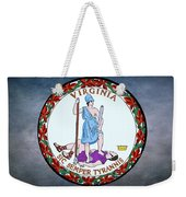 The Great Seal Of The State Of Virginia  Weekender Tote Bag