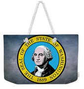 The Great Seal Of The State Of Washington Weekender Tote Bag