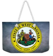 The Great Seal Of The State Of West Virginia Weekender Tote Bag