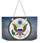 The Great Seal Of The United States  Weekender Tote Bag