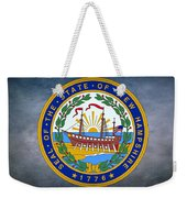 The Great Seal Of The State Of New Hampshire Weekender Tote Bag