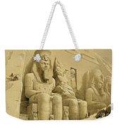 The Great Temple Of Abu Simbel Weekender Tote Bag