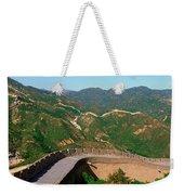 The Great Wall At Badaling In Beijing Weekender Tote Bag