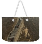 The Great Wall Of China At Badaling - 8  Weekender Tote Bag