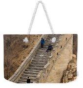 The Great Wall Of China At Badaling - 9 - A Close Up  Weekender Tote Bag