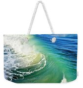 The Great Wave Weekender Tote Bag by Laura Fasulo
