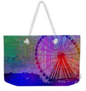 The Great  Wheel Cubed Weekender Tote Bag