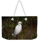 The Great White Heron Weekender Tote Bag