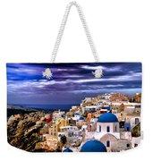 The Greek Isles Santorini Weekender Tote Bag