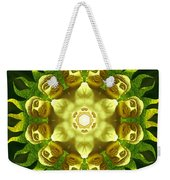 The Green Buddha Weekender Tote Bag