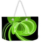 The Green Cat Weekender Tote Bag