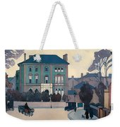 The Green House In St Johns Wood Weekender Tote Bag