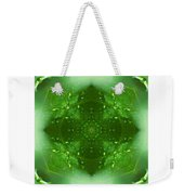 The Green Jewel Of Nature Mandala Weekender Tote Bag