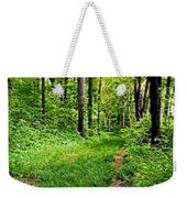 The Green Path Weekender Tote Bag