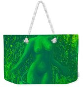 The Green Wood Nymph Calls Weekender Tote Bag
