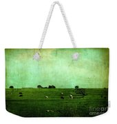 The Green Yonder Weekender Tote Bag by Trish Mistric