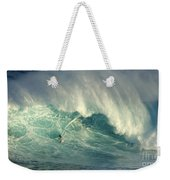 Surfing The Green Zone Weekender Tote Bag
